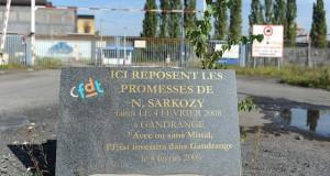 Gandrange se lasse des pèlerinages politiques