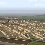 maquette reconstitue la Ville nouvelle de Nancy Renaissance