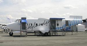Sky Aircraft à deux doigts du crash