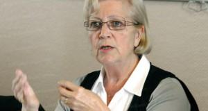 Colette Goeuriot, présidente du Collectif de défense des bassins miniers lorrains<p>« Il faut une nouvelle loi après-mines »</p>