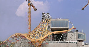 Premiers soins pour le centre Pompidou-Metz