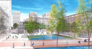 Une pause dans l'urbanisation de l'écoquartier Nancy Grand Cœur
