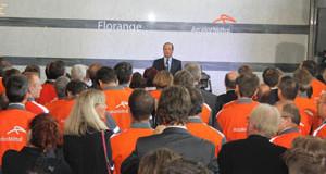 François Hollande reviendra à Florange chaque année