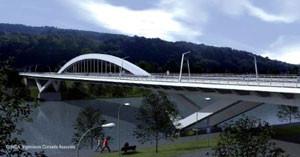 A Grevenmacher, un ricochet sur la Moselle