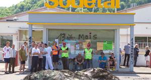 Les syndicats se mobilisent contre le projet de fermeture de Sodetal
