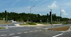 Avenue de la Seille, un nouvel axe routier pour une nouvelle fluidité à Metz