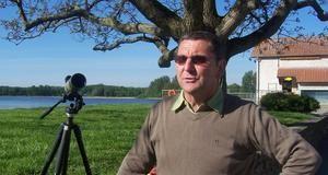 Michel Hirtz, ornithologue <p>Le protecteur des oiseaux du domaine de Lindre</p>