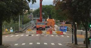 Metz – Reconstruction du pont Lothaire
