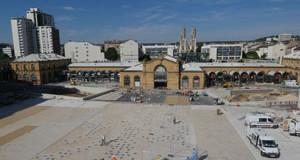 Nancy – la place Thiers passe de simple entrée de gare en esplanade conviviale