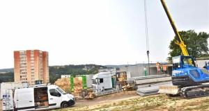 Epinal – Le nouvel hôpital en cale sèche