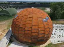 Meurthe-et-Moselle – une géode dédiée à l'énergie solaire