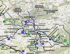 L espoir d un tram train forbach sarrebruck rena t for Halloween 2015 jardin franco allemand sarrebruck