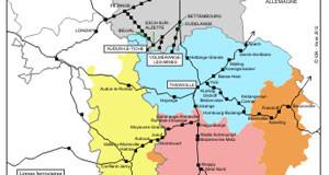 Le nord lorrain frontalier ausculte ses déplacements