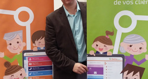 Eric Gehl, co-fondateur de Hakisa  <p>« <em>Notre hub social fera l'interface entre les séniors et l'e-santé </em>» </p>