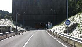 Forte baisse du péage du tunnel Maurice Lemaire