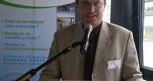 Laurent Damiani, directeur d'Eurodev center à Forbach<p>« <em>Les projets transfrontaliers structurants sont portés par les entreprises</em> »</p>