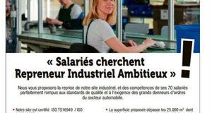 Les salariés de Ficocipa assurent la publicité de leur usine en vente