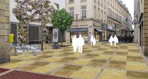 Metz – Le plateau piétonnier fait peau neuve