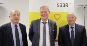 Jochen Legleitner, directeur général de SaarLB France<p>« <em>Nous avons beaucoup progressé dans les investissements transfrontaliers</em> »</p>