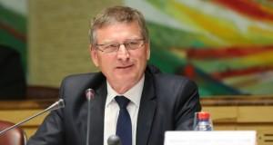 Patrick Tassin, président du CESE Grand Est<p>« <em>Le côté français n'est pas à la hauteur des enjeux transfrontaliers</em> »</p>