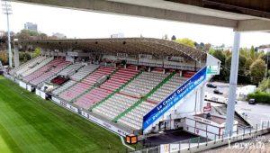tribune sud du stade Saint-Symphorien Département de la Moselle