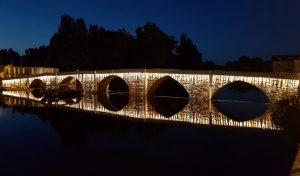 Pont d'Avignon éclairage