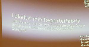 L'Europe des journalistes en débat à Sarrebruck