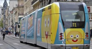 Le tram de Nancy se prolonge et passe au rail