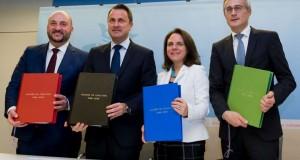 Au Luxembourg , la coalition de gauche passe des promesses aux actes