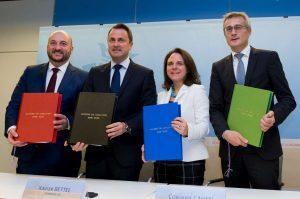 accord de coalition luxembourg