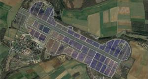 Une centrale solaire géante s'érige sur l'ex-base aérienne de Marville