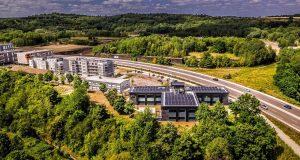 Près du Luxembourg, les friches d'Alzette-Belval renaissent en technoquartier