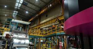Florange: la nouvelle ligne d'ArcelorMittal tourne à plein régime